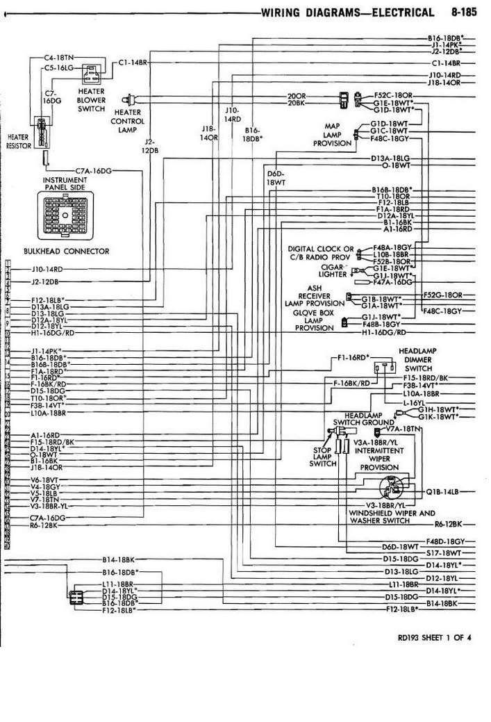 Stereo Wire Diagram