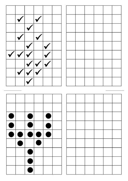 spiegeln einer figur wenn s mathematik volksschule grundschule spielerisches lernen. Black Bedroom Furniture Sets. Home Design Ideas