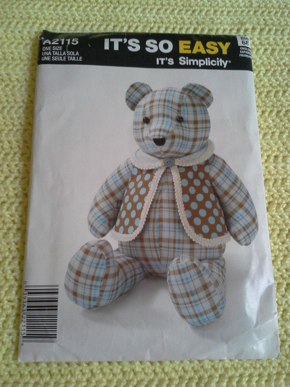memory bear pattern free | memory beR | Teddy bear ...