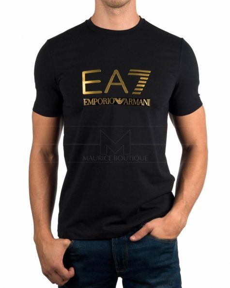 c7cfb760bf9 Camiseta Emporio Armani EA7 - Azul Marino Manga Larga | edwin ...