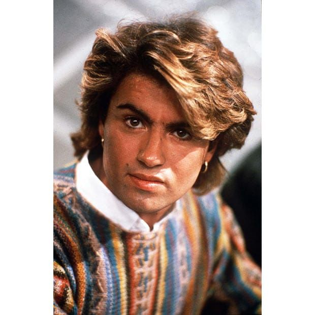 1980's hair | 1980s floppy hair - George Michael | 80s Hair ...
