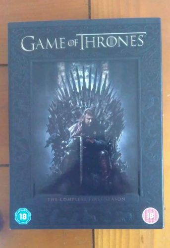 #George r r #martin's game of thrones: series/season 1 box set #(dvd, region 2),  View more on the LINK: http://www.zeppy.io/product/gb/2/331814956043/