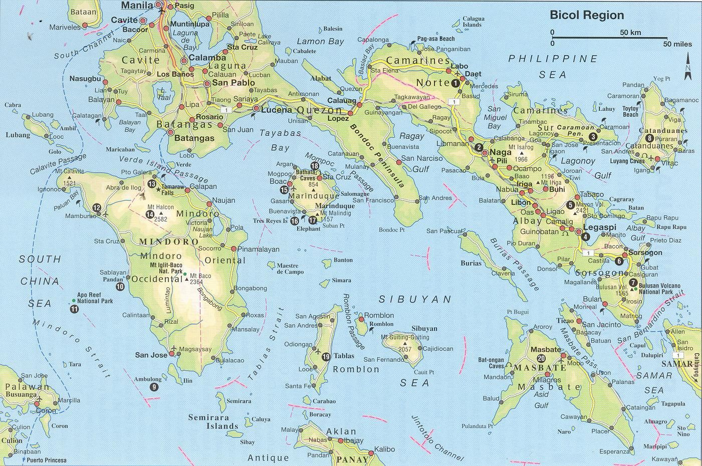 Philippines Philippines Map Philippines Political Map - Map of the philippines cities