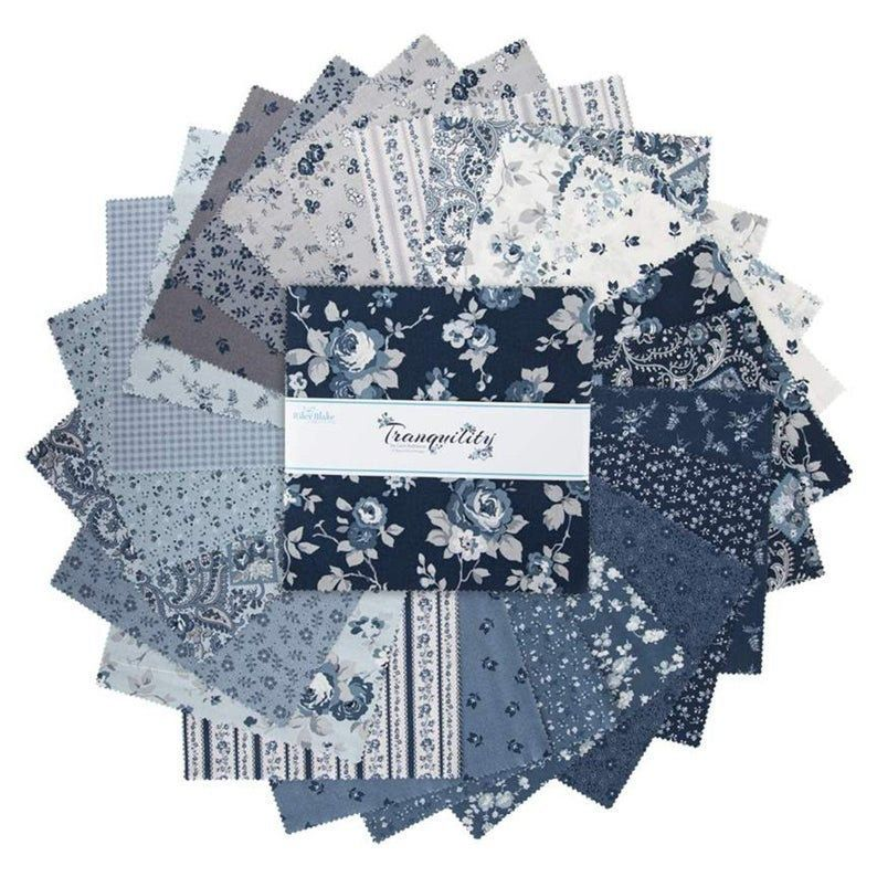 Tranquility 10 Stacker Layer Cake 5 9600 42 10 Etsy In 2020 Riley Blake Designs Fabric Squares Precut Fabric