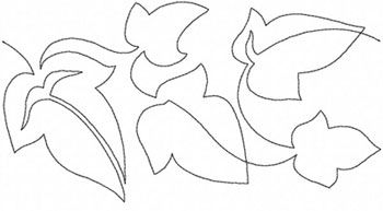 couching embroidery pattern