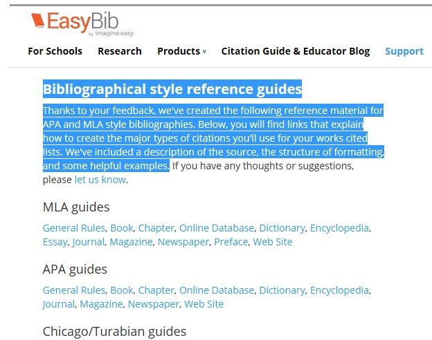 Sites Like EasyBib com   Similar Sites    EasyBib allows users to automatically format book