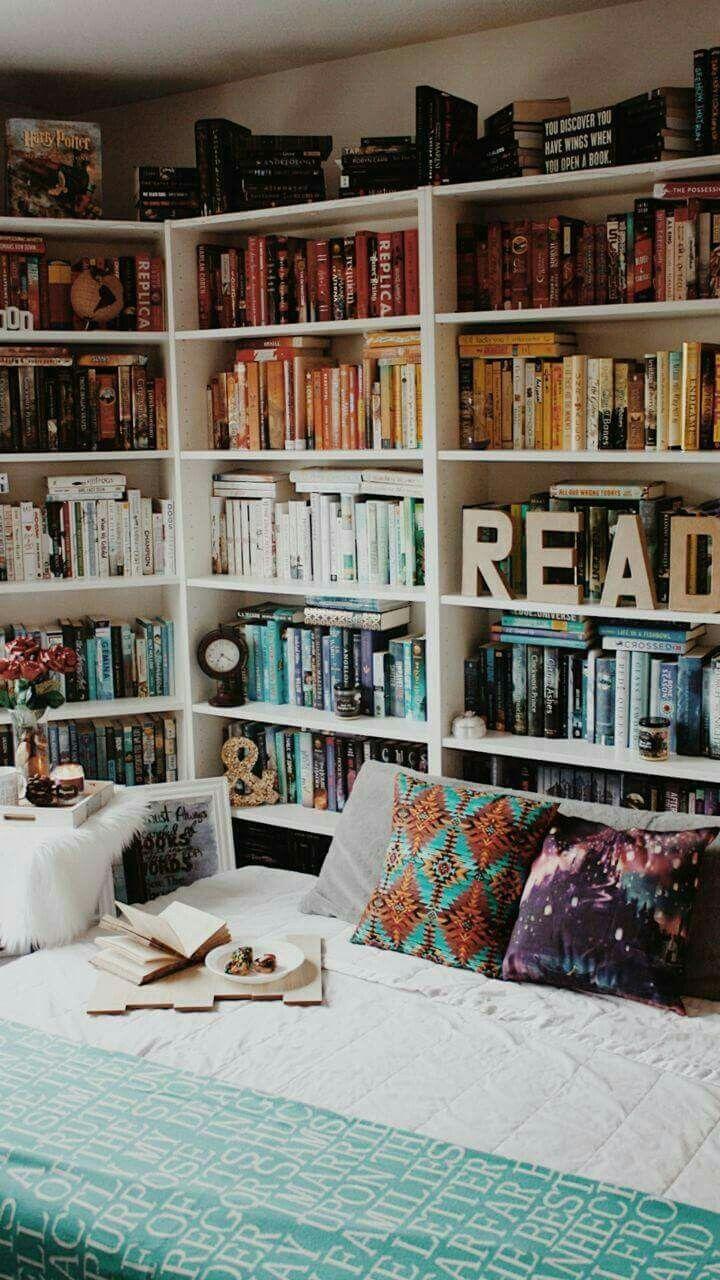 Pin di Iulia Bandac su Biblioteci | Pinterest | Librerie, Libri e ...