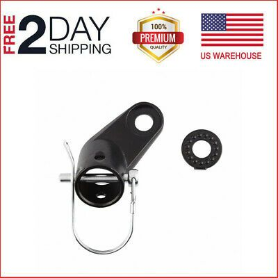 Bikes Trailers Bicycle Coupler Angled Elbow Attachment Hitch For InStep Schwinn