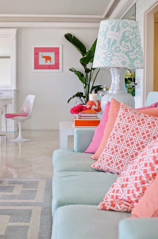 Decorating Palm Beach Preppy Style | Preppy style, Palm beach and Palm