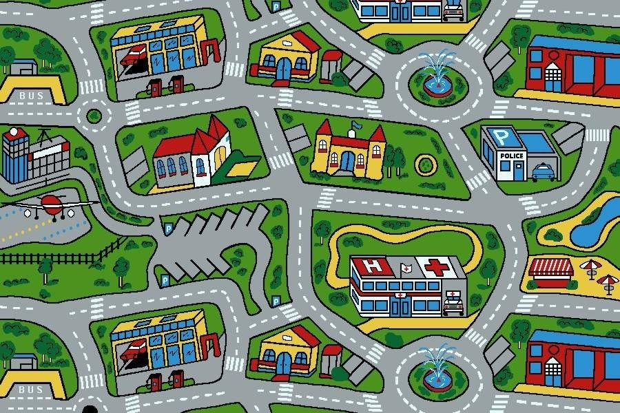 Kids Rugs Play