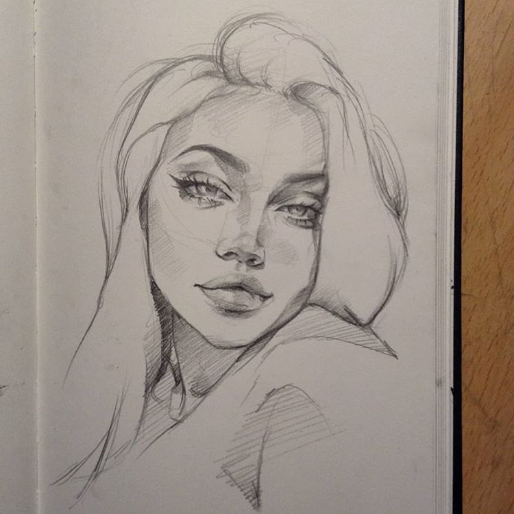 "Anaïs? on Instagram: ""Another one✨ @wowlilaa ~ ~ ~ #sketchbook #arts_gallery #sketch_dailydose #proartists #dailyarts #art_spotlight #art_conquest…"""