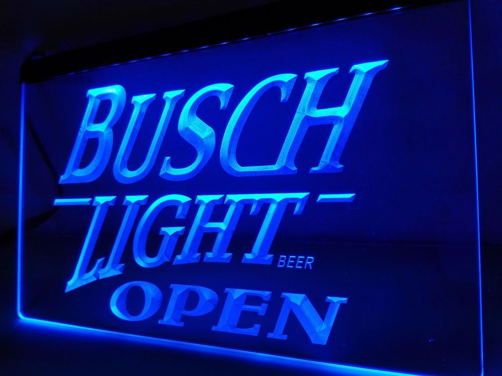 Led Sign Home Decor Adorable Busch Light Beer Open Bar Led Neon Light Sign Home Decor Crafts Review
