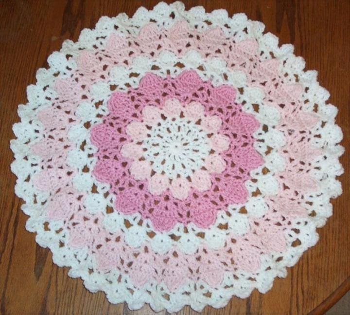 42 Quick Easy Crochet Doily Pattern Crochet Pinterest
