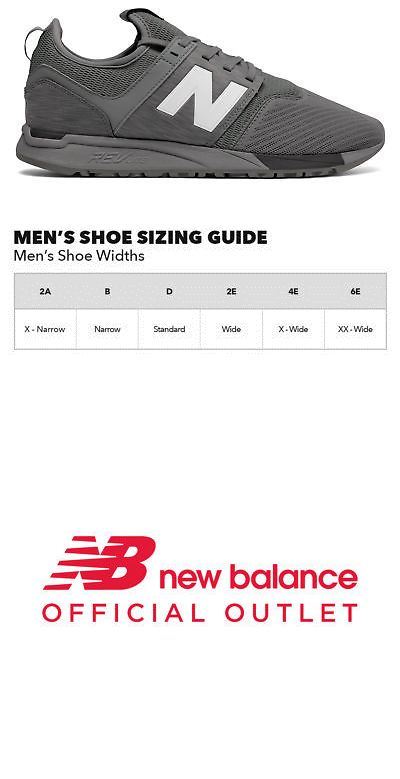 brand new c9f9d e8172 Athletic Shoes 15709 New Balance Men S 247 Classic Shoes Grey - BUY IT NOW  ONLY 40 on eBay athletic shoes balance classic