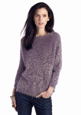 Nine West Vintage America Collection  Marissa Jacquard Sweater