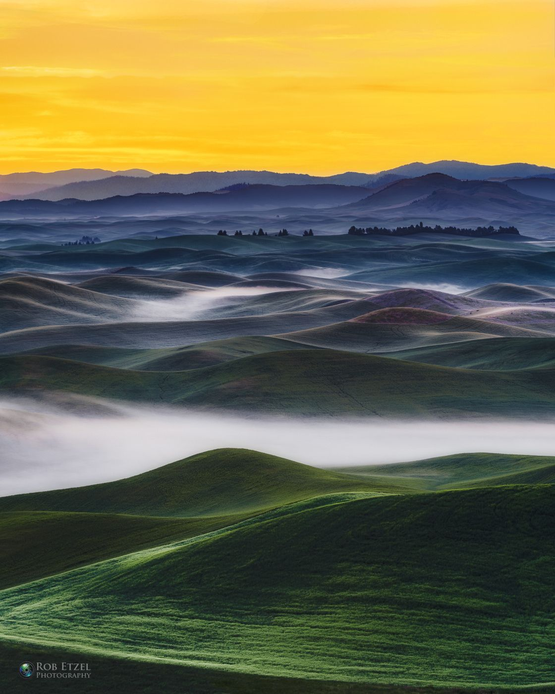 Layers by Rob Etzel / 500px (Palouse, Washington)