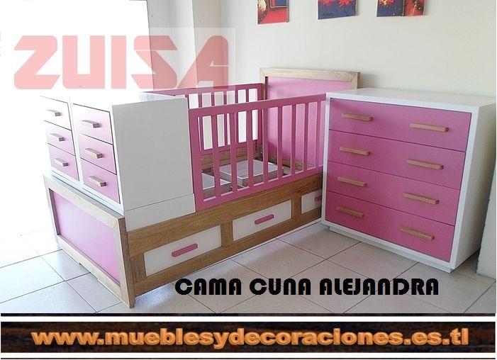 Cama cuna Libelula, fabricada Muebles Zuisa, Whatsapp 3216694144 ...