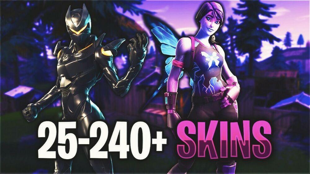 25-240+ Skin Fortnite Account (Inactive Renegades) #fortnite