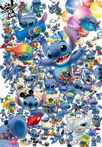 Stitch Stitch Disney Lilo And Stitch Disney Jigsaw Puzzles