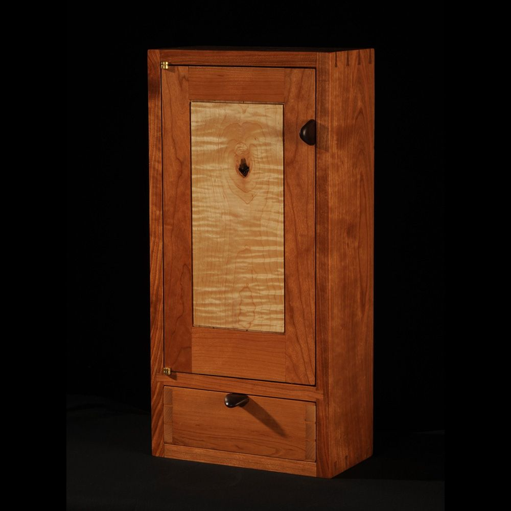 Cherry/maple wall cabinet   Products I Love   Pinterest