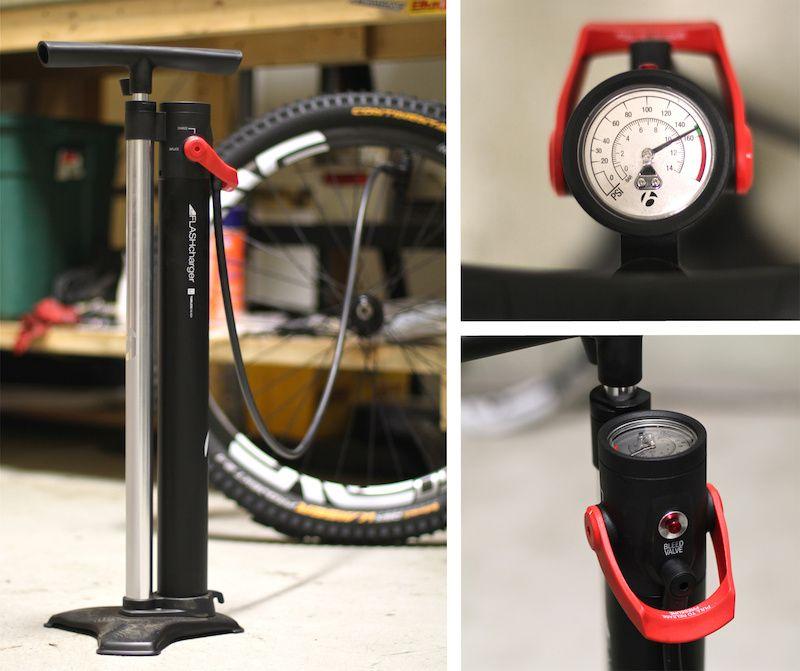 Bontrager's TLR Flash Charger Floor Pump Review Bike