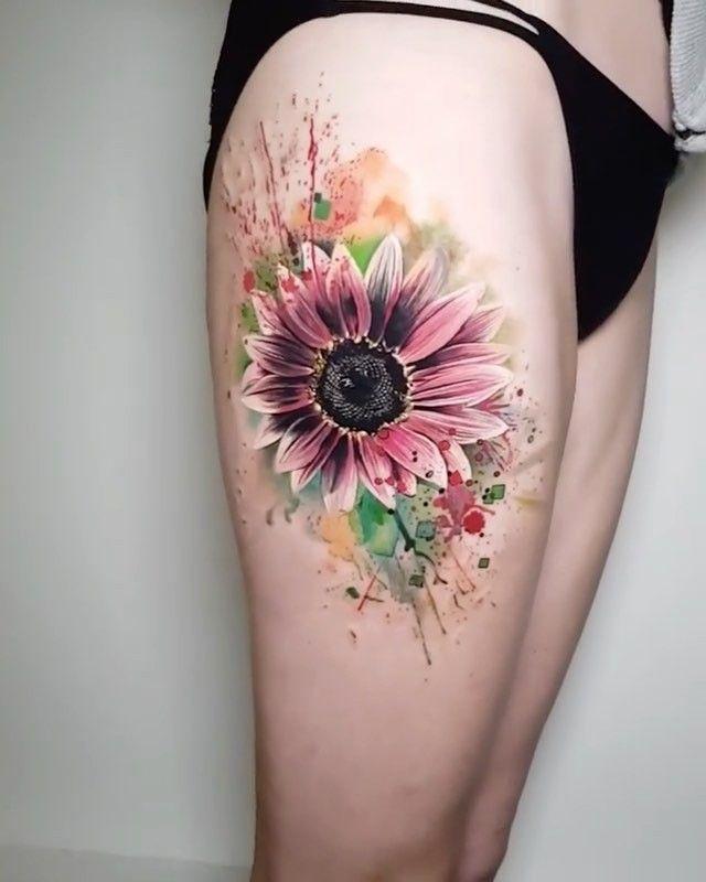 Photo of Gorgeous Sunflower Tattoos For Women – POP TATTOO