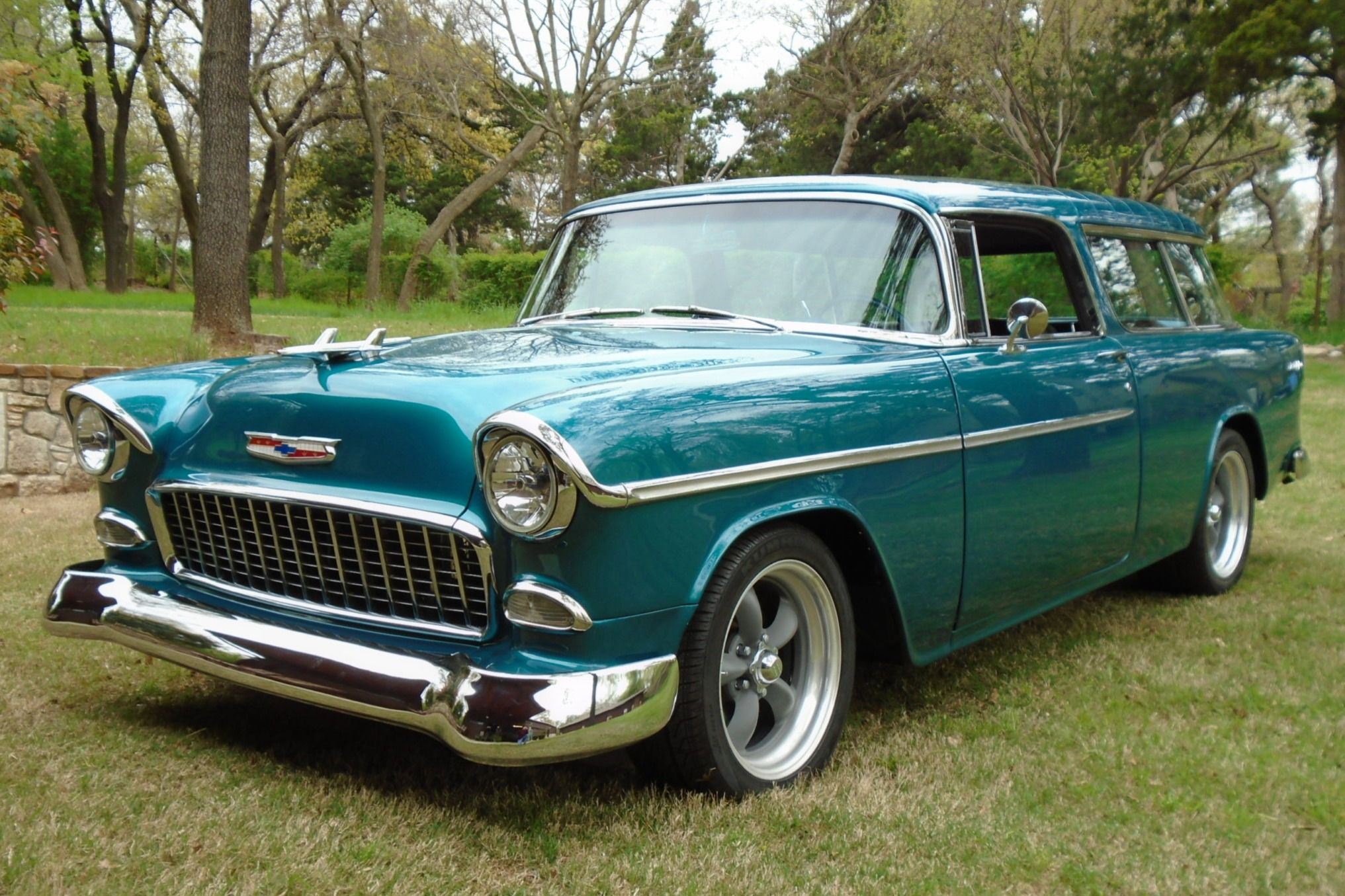 Modified 1955 Chevrolet Bel Air Nomad in 2020 1955