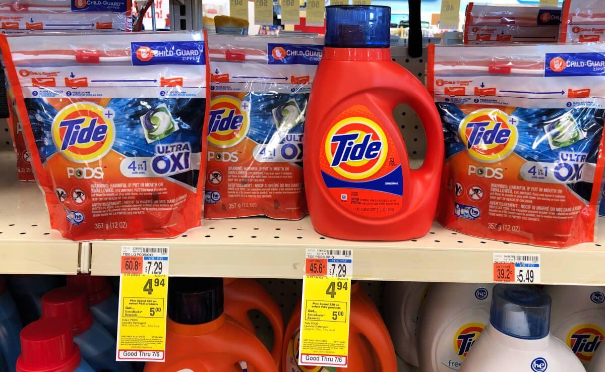 Tide Pods And Tide Liquid Detergent Only 0 94 At Cvs Tide