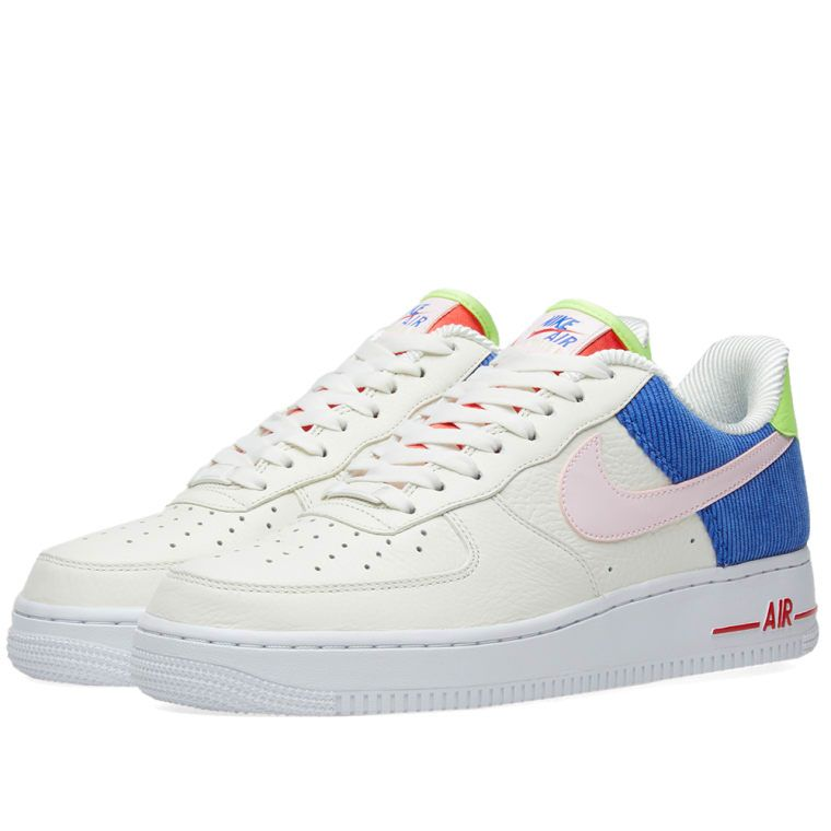 new arrival cee0e 5628f Nike Air Force 1 Low W Sail, Arctic Pink  Racer Blue 1