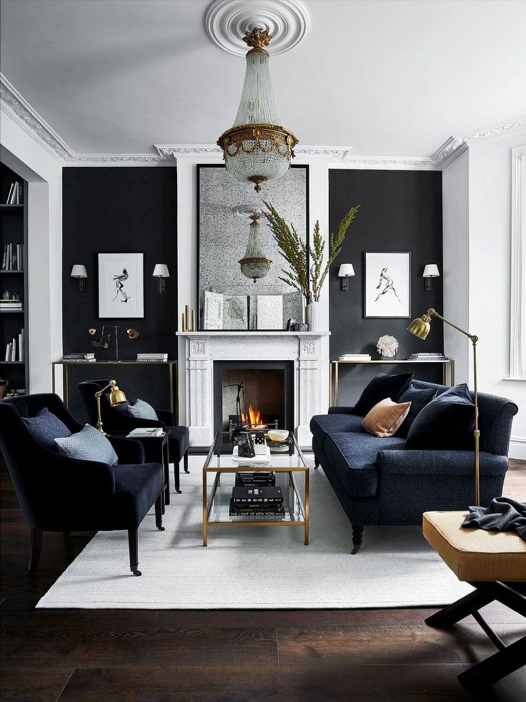 15 luxurious black living room ideas to inspire you