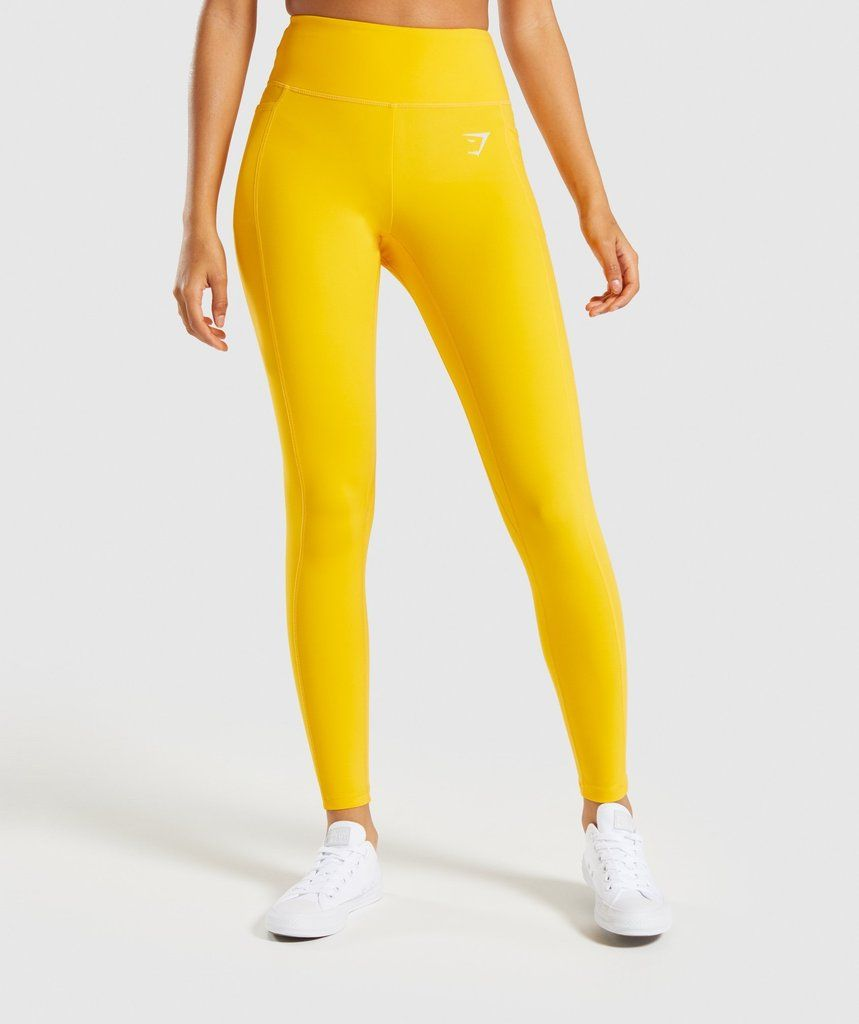 575e433c58c26 Gymshark Dreamy Leggings 2.0 - Citrus Yellow in 2019 | Want ...