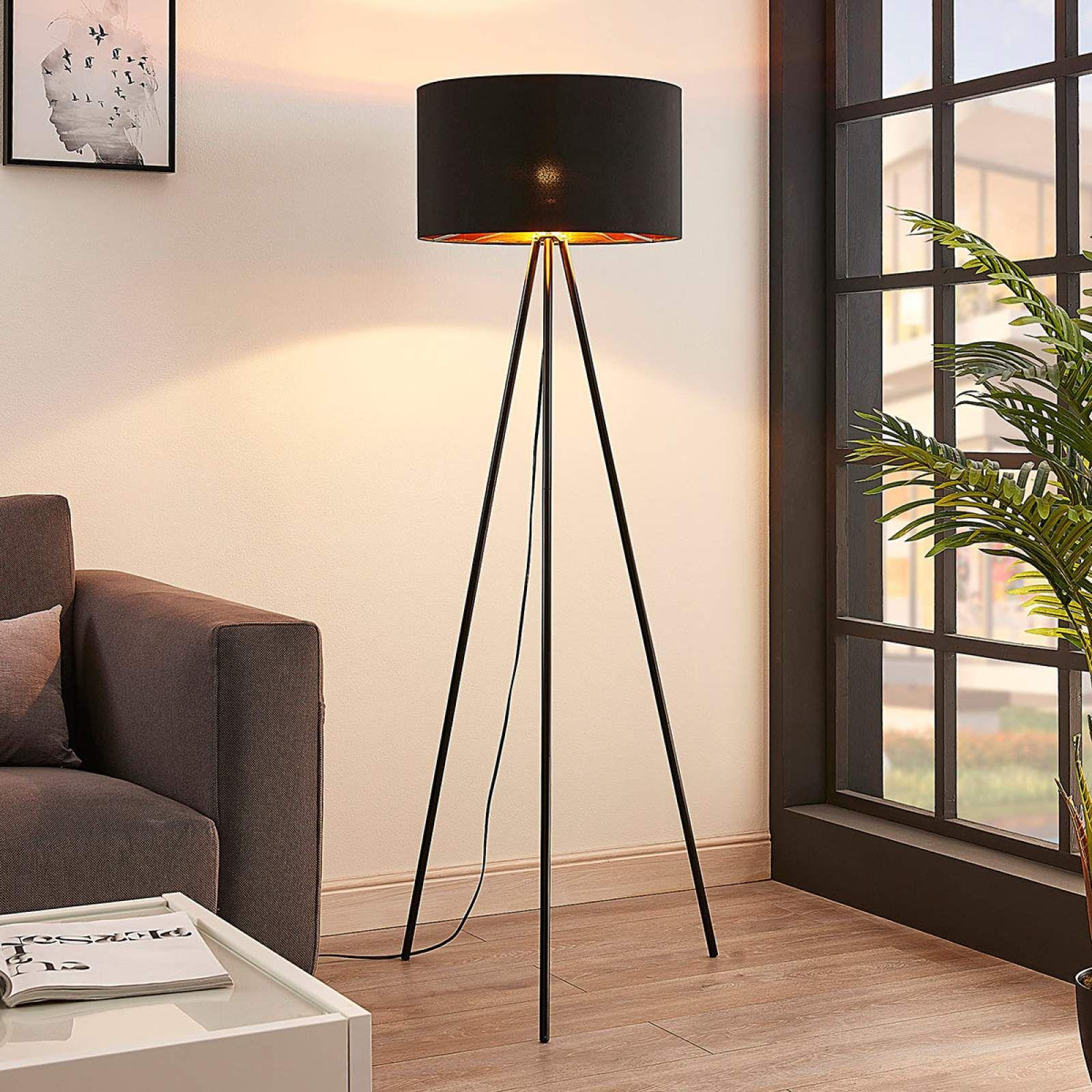 Moderne Stehlampe Von Lampenwelt Com Schwarz In 2020 Designer