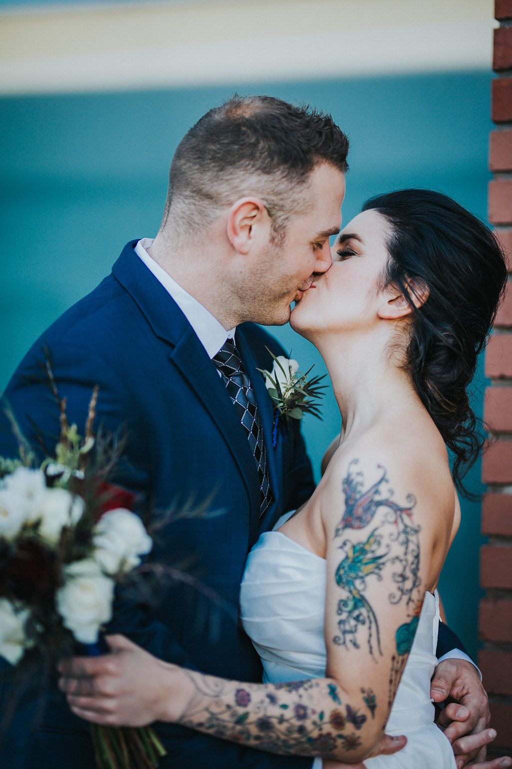 The Stars Aligned Tattooed Bride Brides For A Cause Make Me
