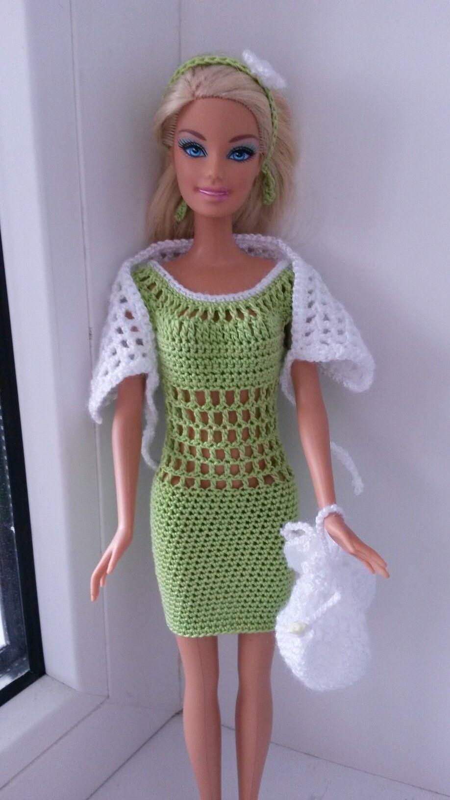 Pin Van Jannie Crocket Lady Op Haken Barbypop Pinterest Barbie