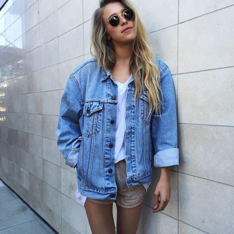 Pinterest Mylittlejourney Wardrobe Fashion Jean Jacket