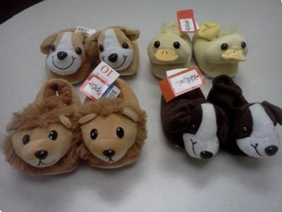 Children S Animal Slippers Recalled Due To Choking Hazard Sold
