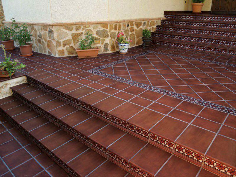 Pisos de ceramica buscar con google terrazas - Baldosas para exteriores ...