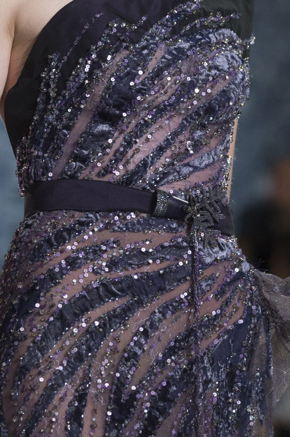 Ziad Nakad at Couture Fall 2017 (Details)