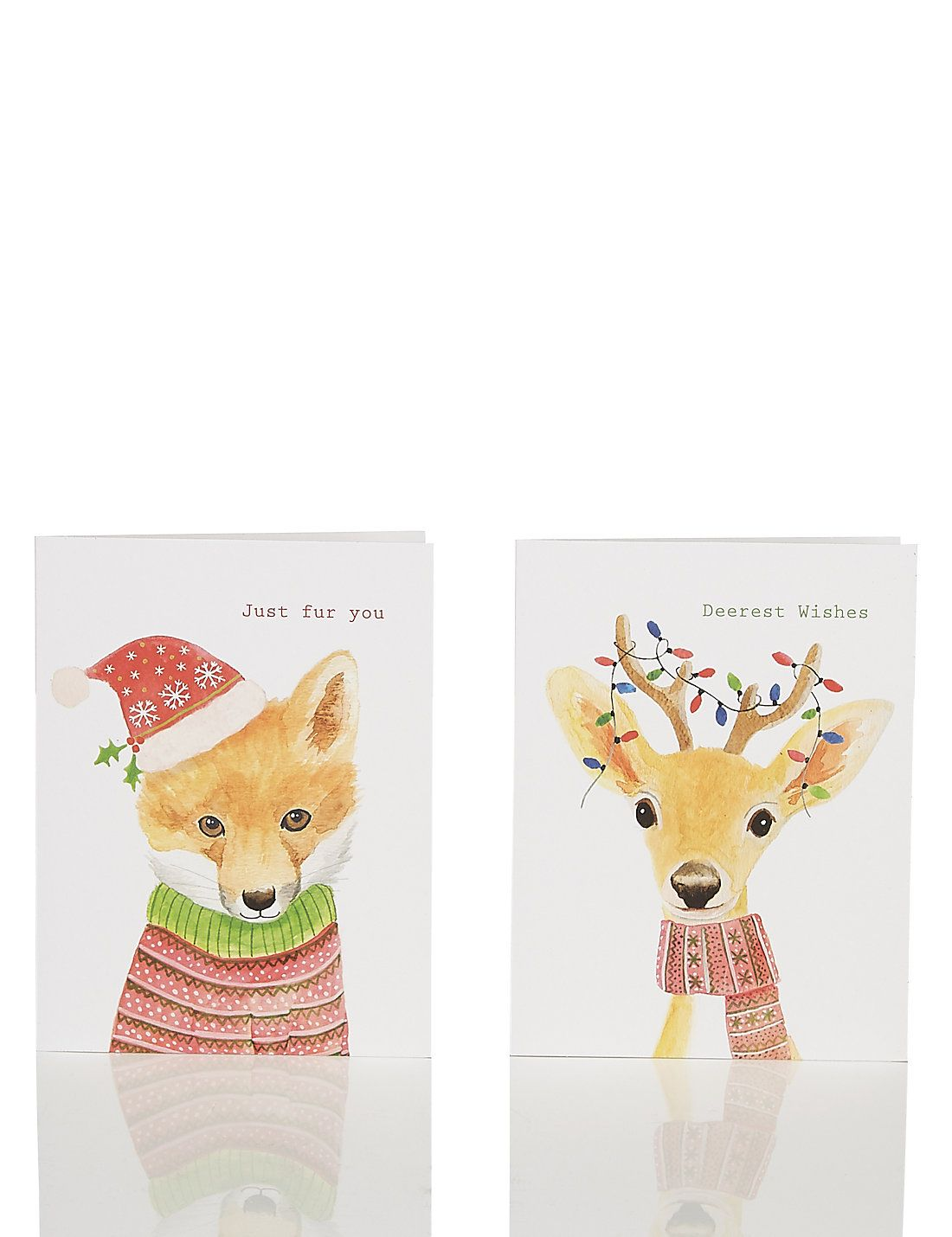20 cute animals charity christmas multipack cards - Animal Charity Christmas Cards
