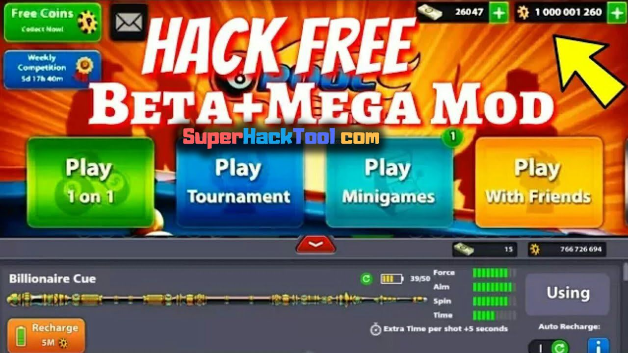 8 Ball Pool Hack Best Cheats To Get Free Cash And Coins 8 Ball