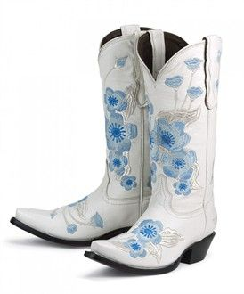 white cowboy boots for wedding   Cowboy Boots - Wedding Boots ...
