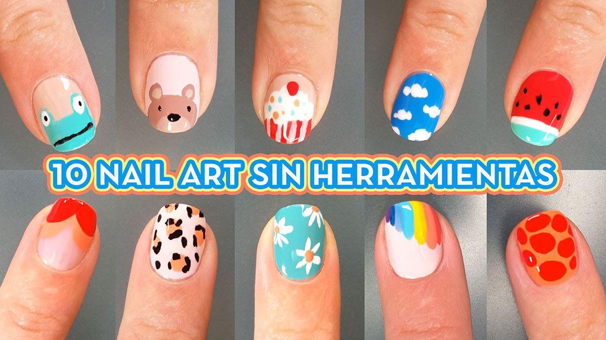10 dise os de nail art facil decoraci n de u as manicura y nail art yurley castilla - Decoracion facil de unas ...