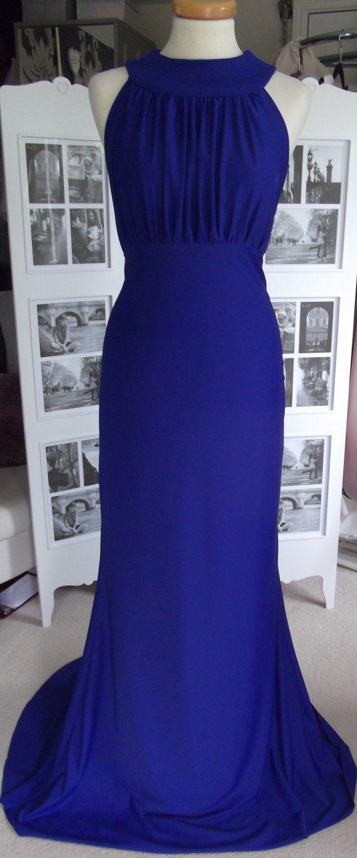 Blue Bridesmaid Dresses - Halter Neck Fishtail/Mermaid Wedding/Prom ...