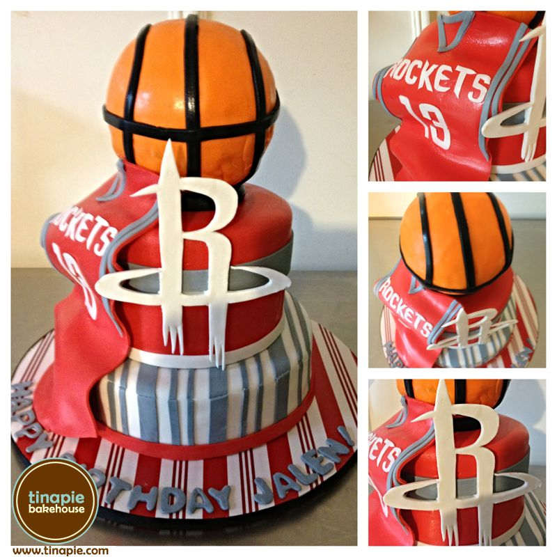 Houston Rockets Cake cakes and cake decorating ideas Pinterest