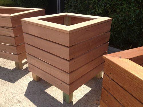 Hardwood Timber Planter Diy Planter Boxes Planters