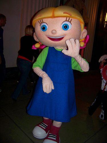 Annie from Little Einsteins at Mickey's TrickOrTreat