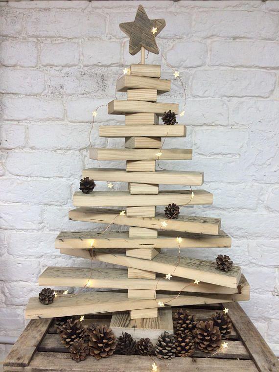 Wooden Christmas Tree Rustic Christmas Tree Reclaimed Wood Wood Christmas Tree Pallet Wood Christmas Tree Wooden Christmas Trees