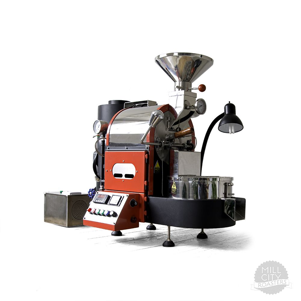 1kg Gas Coffee Roaster With Images Coffee Roasters Roaster Mill City