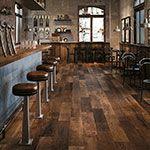 Redeem Tile In Bourbon Wood Look Tile Restaurant Flooring Wood Plank Tile
