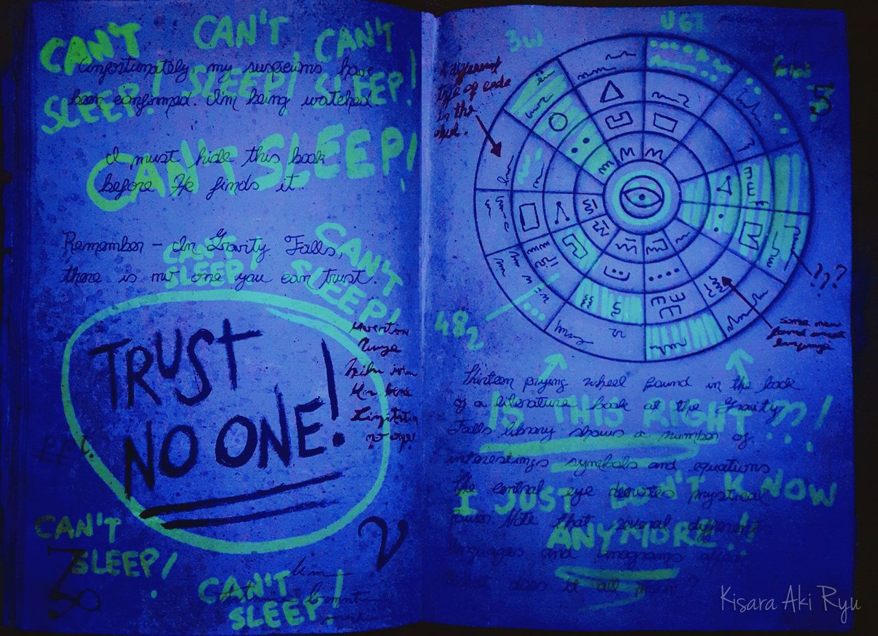 gravity falls journal 3 blacklight edition uk